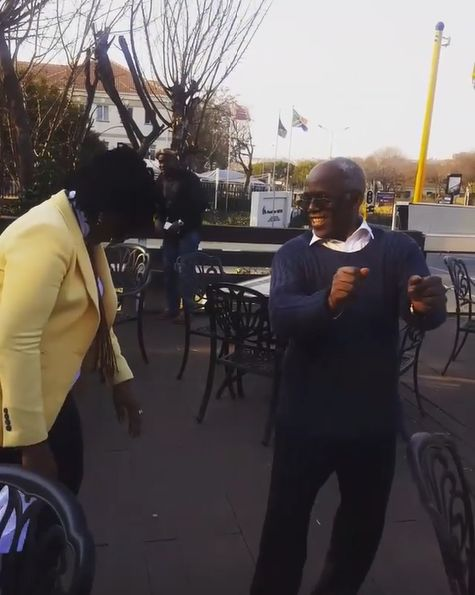 BN Sweet Spot: Femi Falana & wife Funmi battle it out! | BellaNaija
