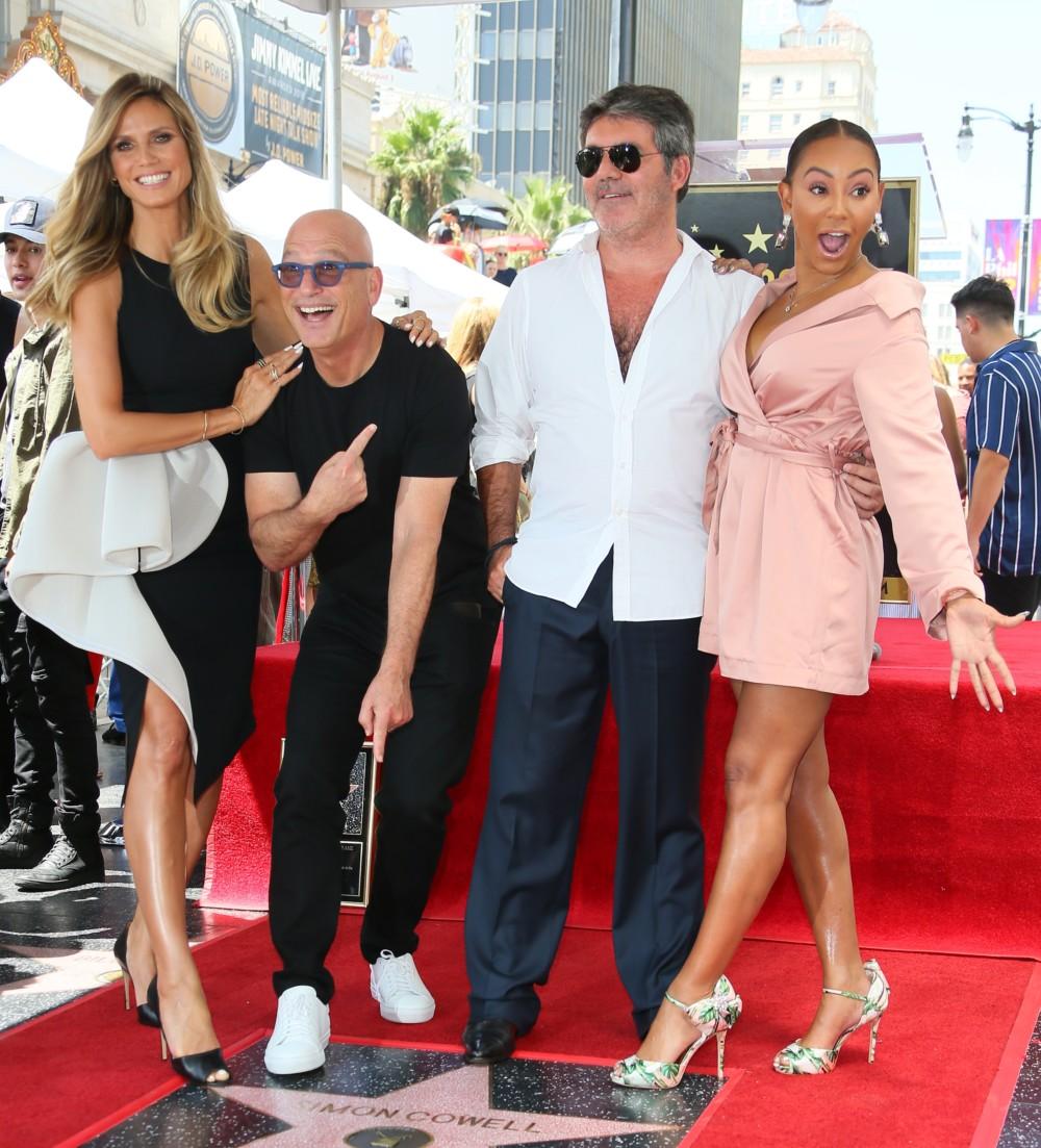 Simon Cowell Gets A Star On Hollywood Walk Of Fame The Ghana