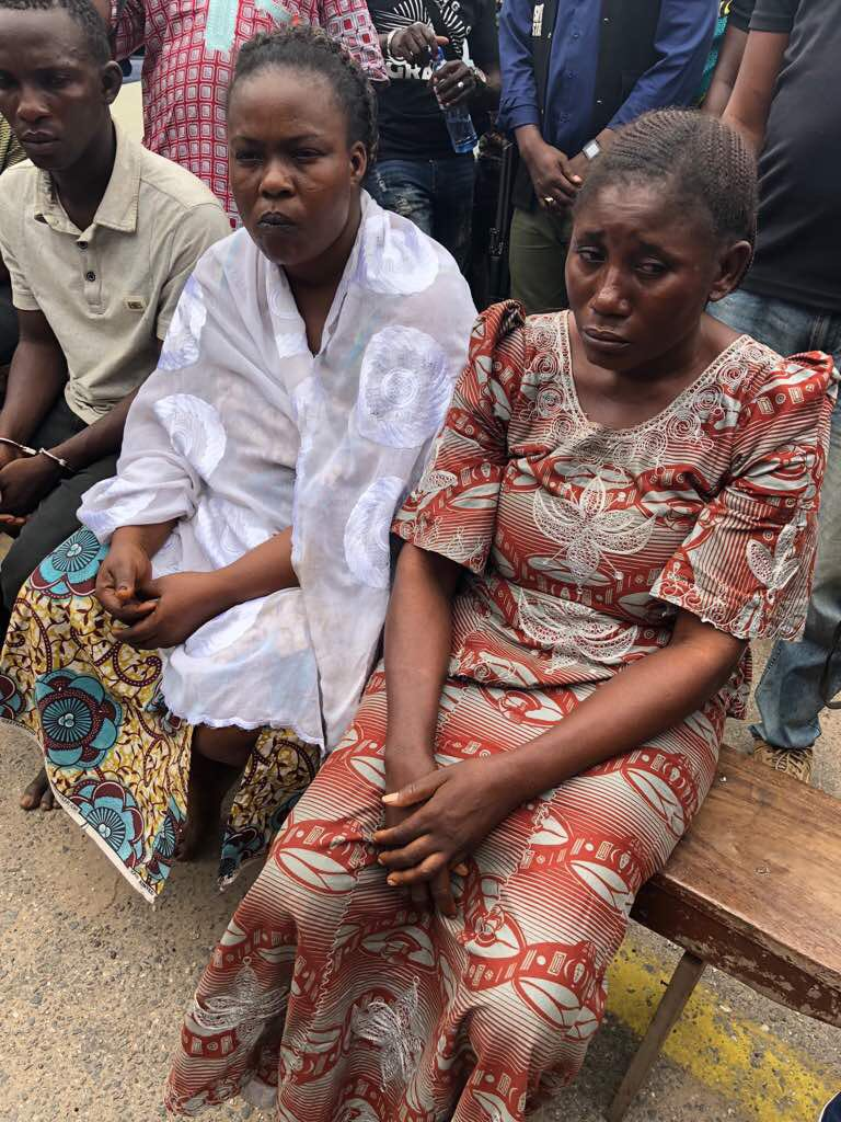 Woman & Alleged Lover Allegedly fake her & her Daughter's Kidnap to Defraud Husband of N15m