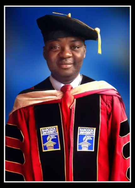 BN Presents Naija Doctorate & Proud: Godwin Oyedokun Has a PhD in Accounting from Babcock University