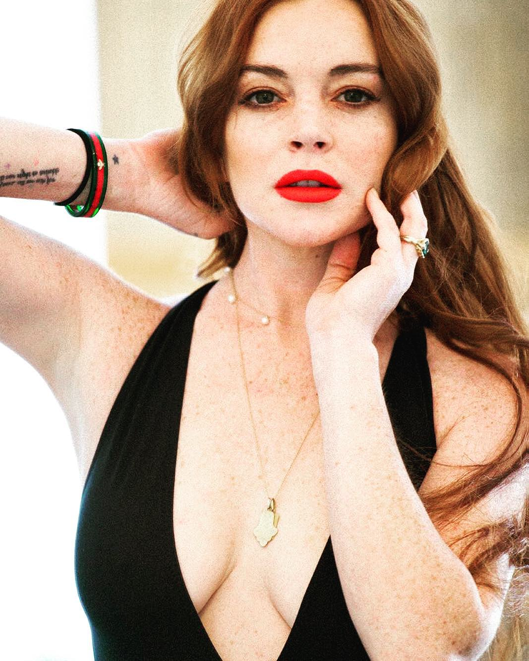 "Lindsay Lohan says #MeToo Advocacy makes Women ""look weak"""