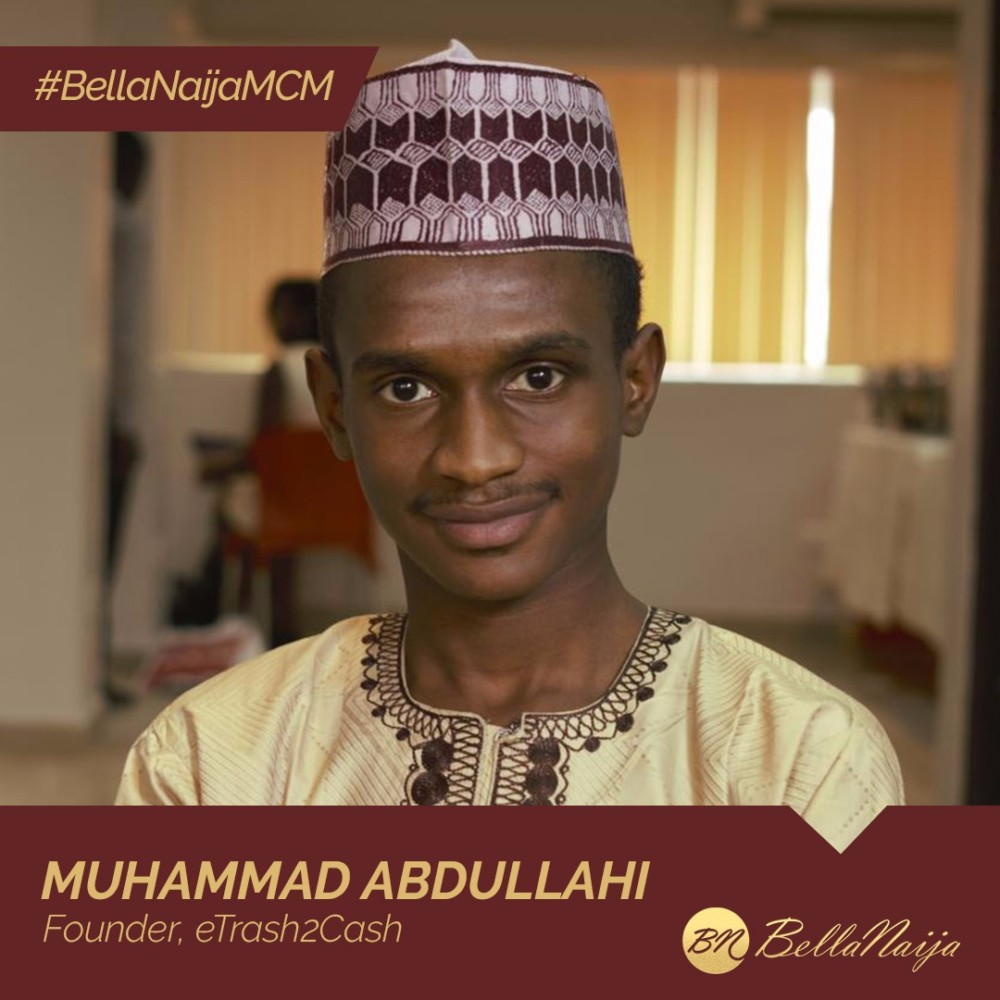 How #BellaNaijaMCM Muhammad Abdullahi is Turning Waste to Wealth with eTrash2Cash