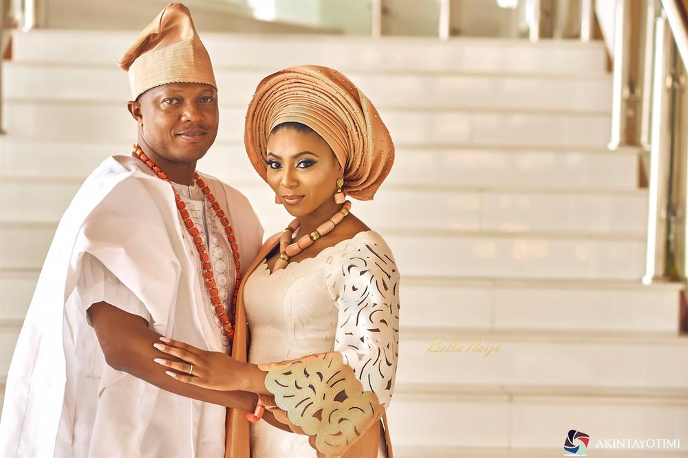 Stephanie Coker & Olumide Aderinokun celebrate One Year Wedding Anniversary ❤️