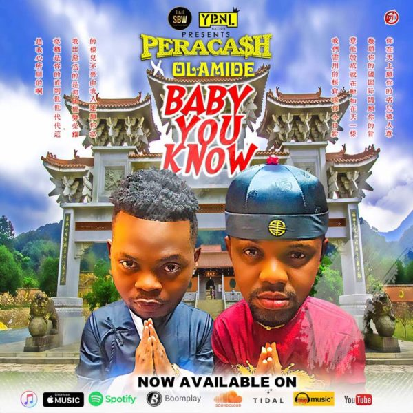 New Music: Peracash feat. Olamide - Baby You Know | BellaNaija