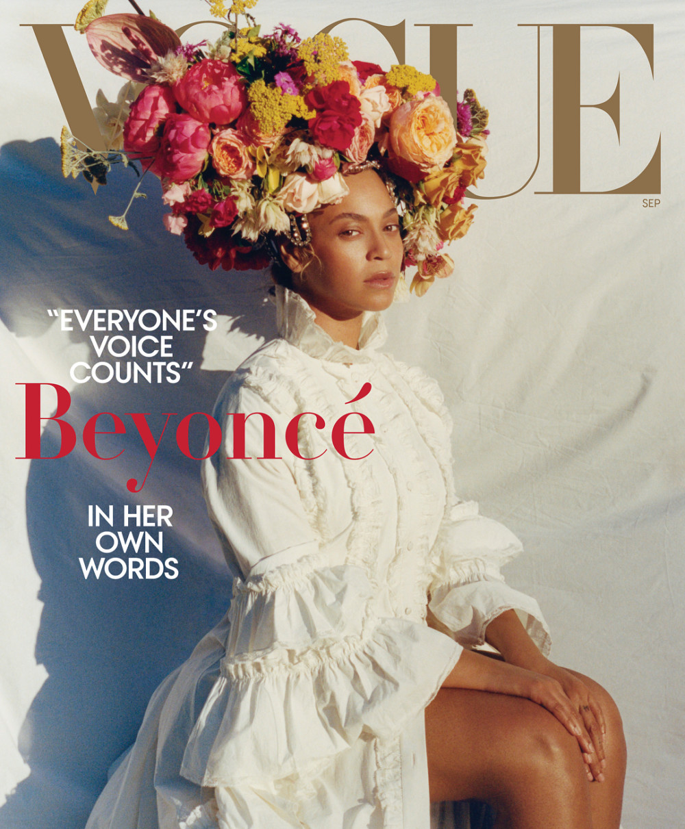 Checkout Beyonce's Anticipated Vogue September 2018 Cover - Image ~ Naijabang
