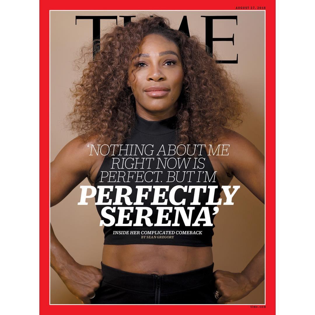 Serena Williams talks Motherhood, Career Comeback in TIME's Latest Issue