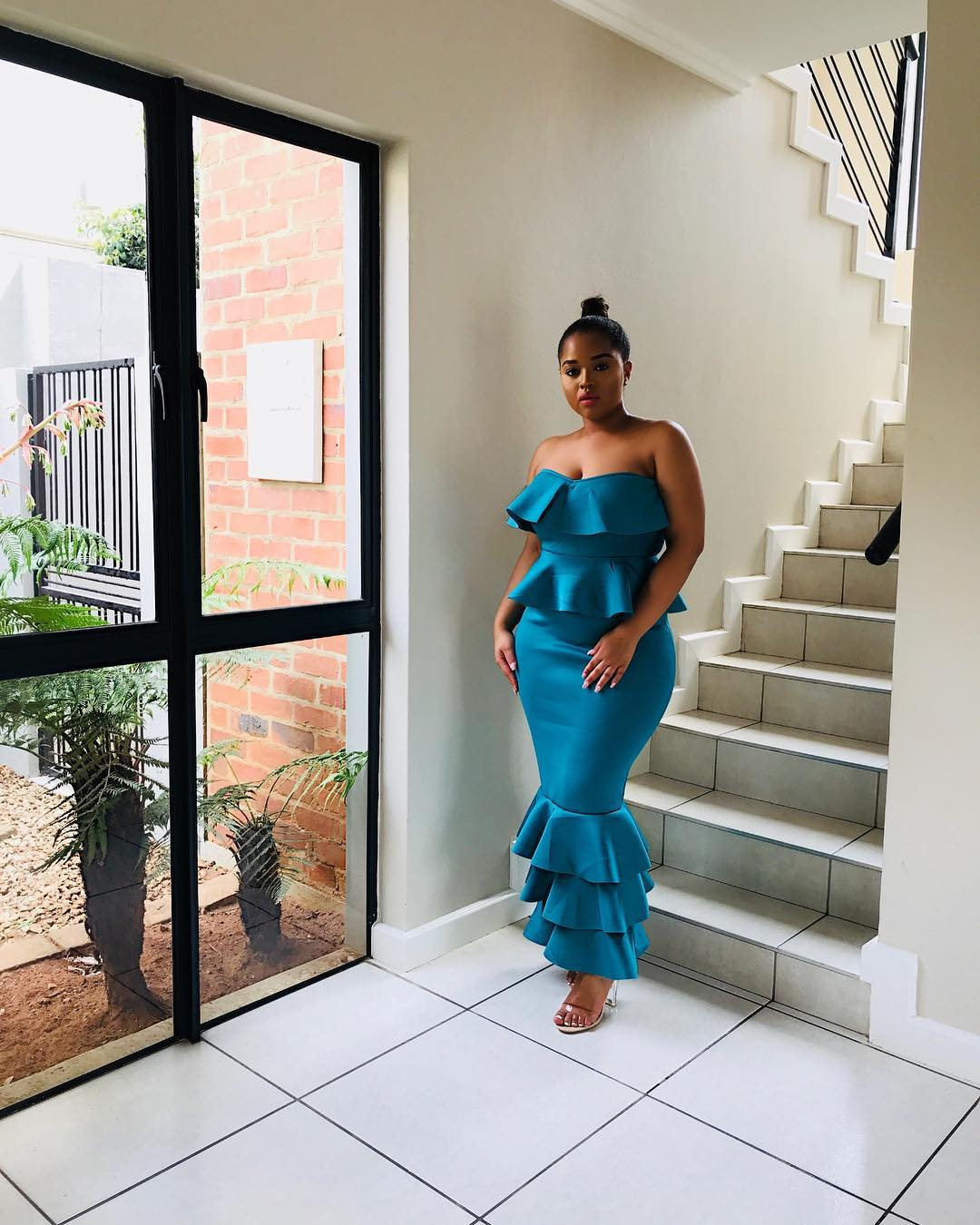 "Sarah Langa and Lungile Thabethe In The Same ""Fashion Never"" Dress"