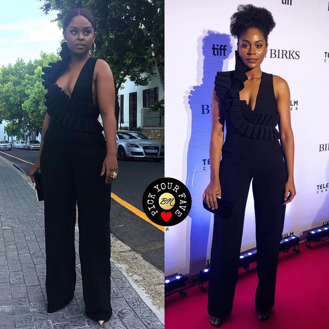BN Pick Your Fave | Andrea and Somkele Iyama In Andrea Iyama
