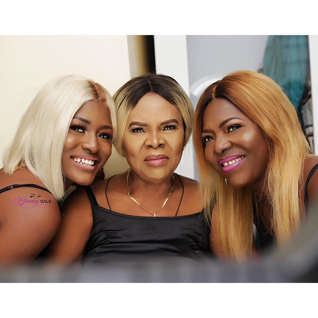 alex unusual, grand ma and mum
