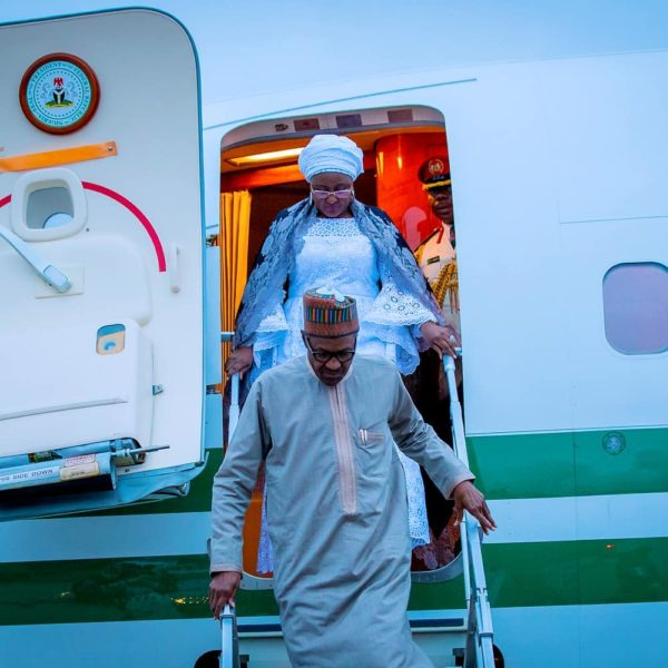 President Buhari arrives New York for the 73rd Session of United Nations General Assembly | BellaNaija