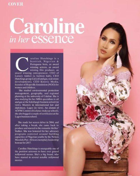 Caroline Danjuma Covers Celebrity Magazine Latest Issue