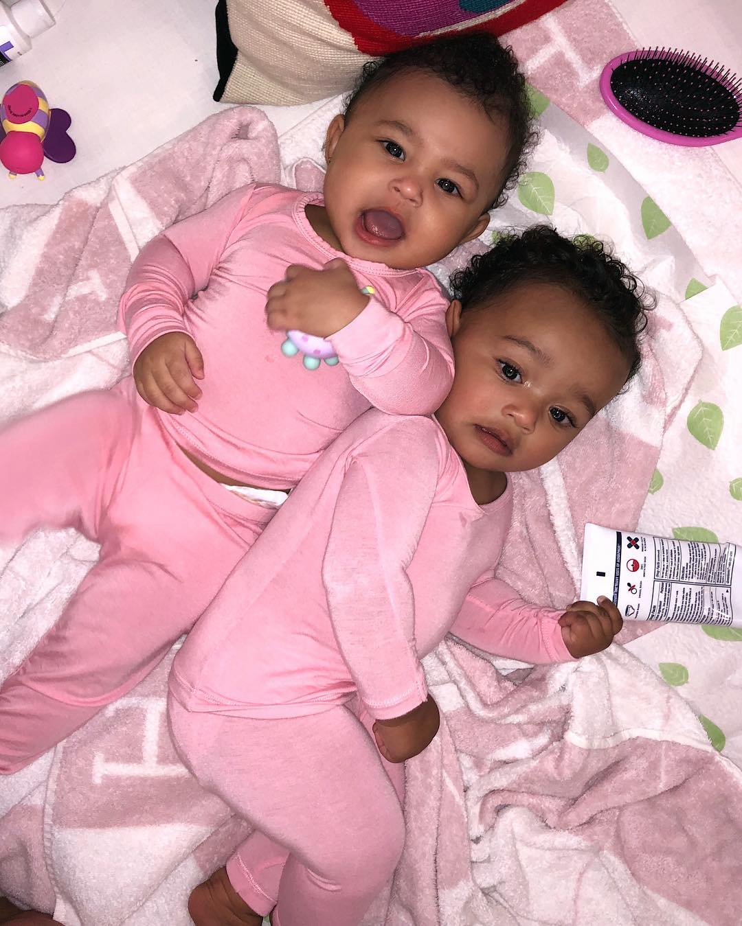 BN Sweet Spot: Chicago & Stormi are officially the cutest of the Kardashian Clan | BellaNaija