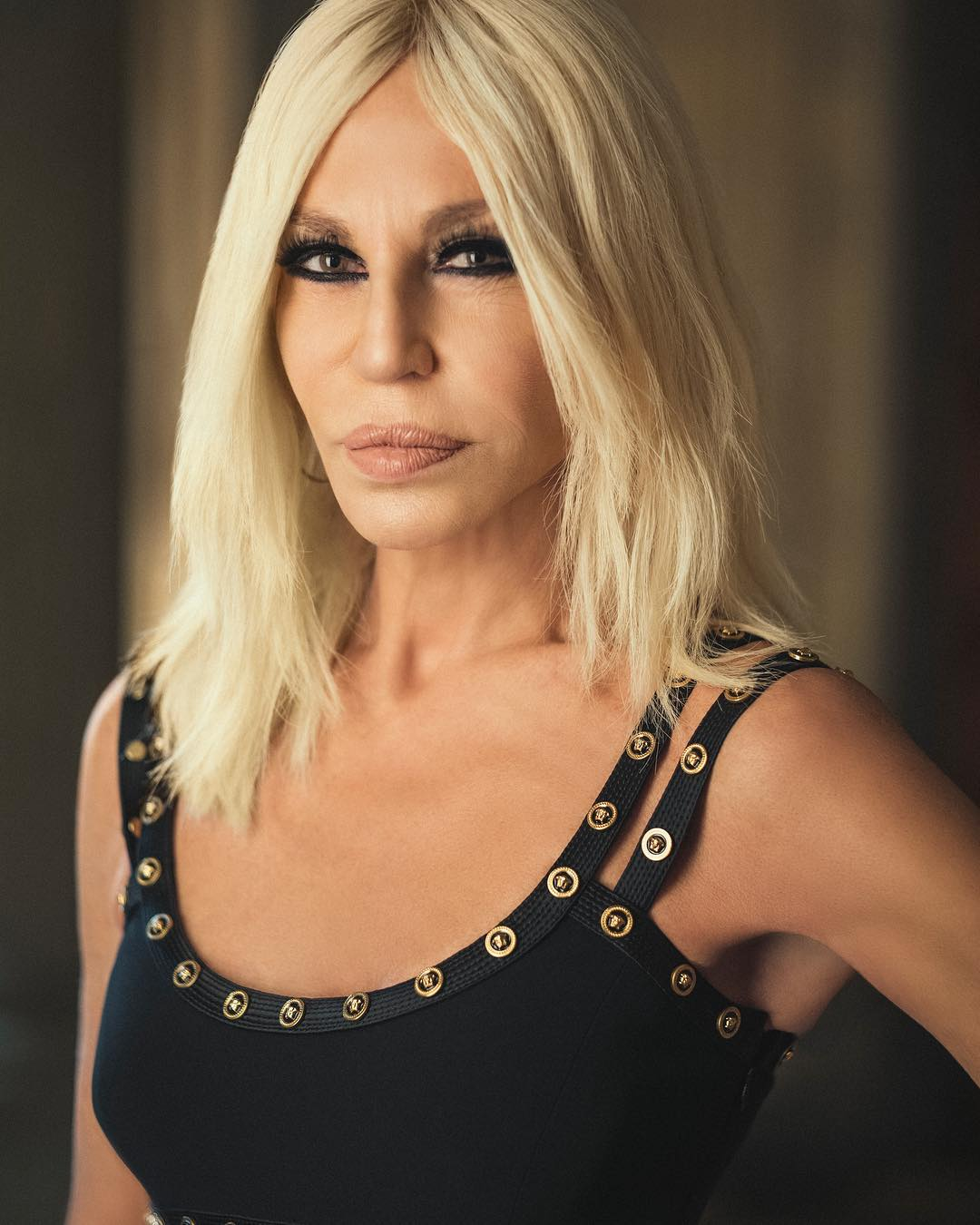 how donatella versace got us to forever remember her name. Black Bedroom Furniture Sets. Home Design Ideas