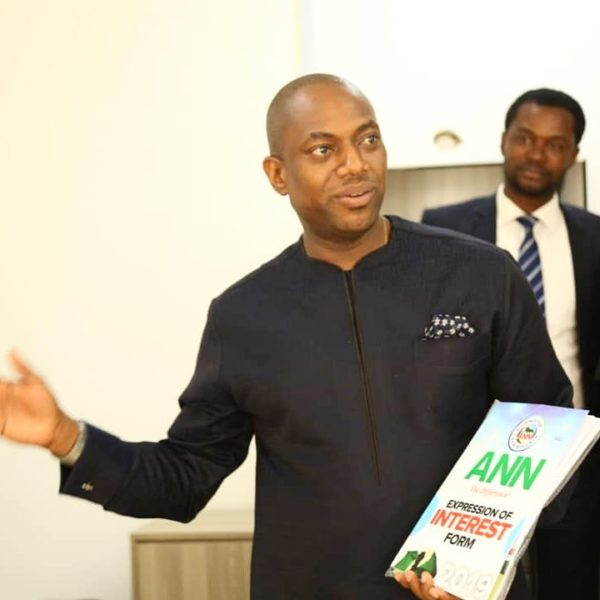 Fela Durotoye receives Presidential Nomination Form | BellaNaija