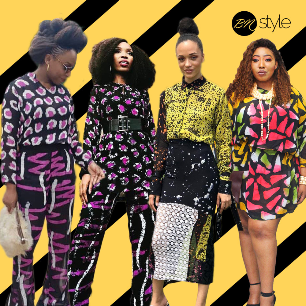 Lala Akindoju, Eku Edewor, Chimamanda Adichie, Latasha Ngwube, Eku Edewor