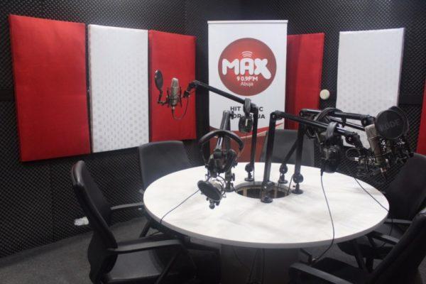 MAX 90.9 FM Abuja Office