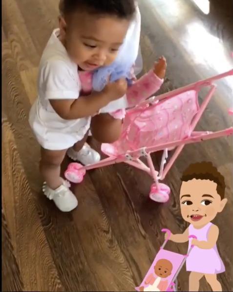 BN Sweet Spot: Serena Willams & Alexis Ohanian's daughter Olympia on Mummy Duties! - BellaNaija