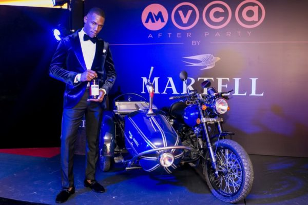 Guest at the Martell Cognac Event