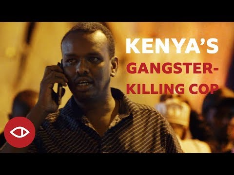BBC takes a trip with Kenya's 'Killer Cop' Ahmed Rashid hunting down Gangsters | WATCH | BellaNaija