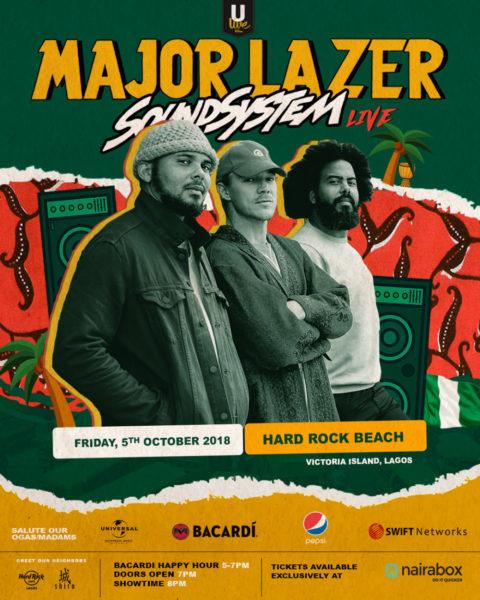 Major Lazer Tour Concert, Nigeria