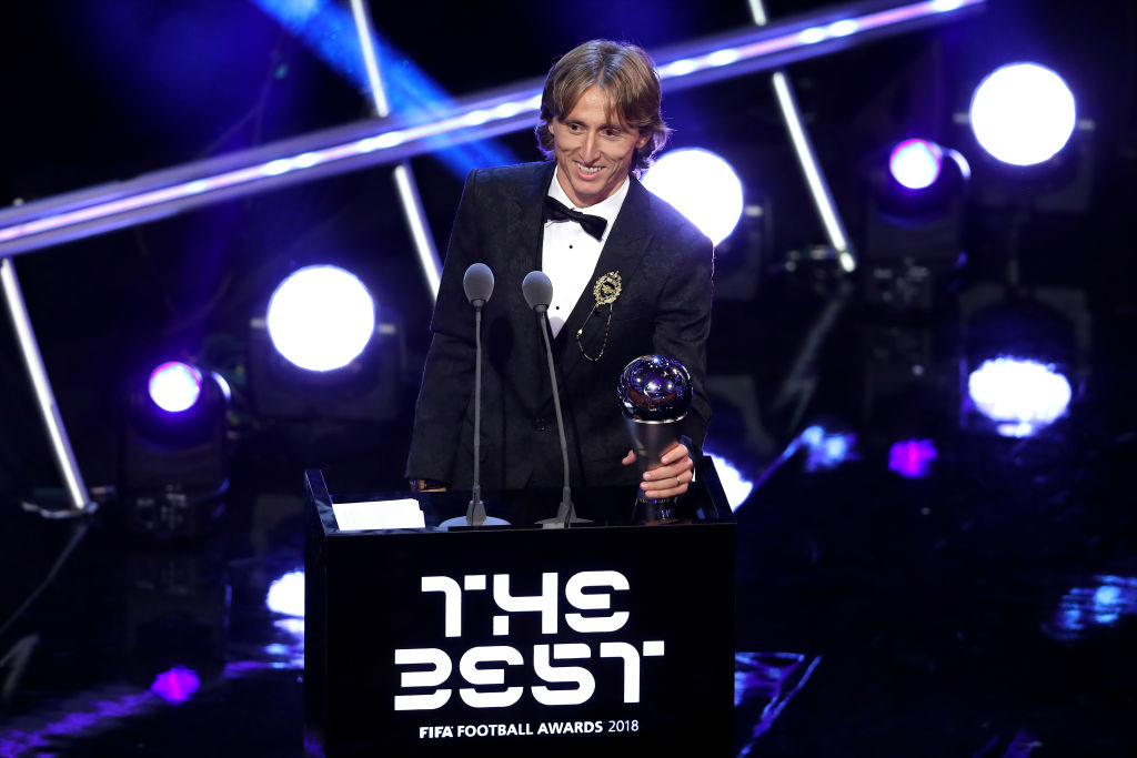 Modric beats Ronaldo & Salah to be named FIFA's The Best 2018 | BellaNaija