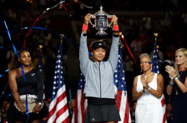 Naomi Osaka becomes First Japanese Woman to win US Open after beating idol Serena | BellaNaija