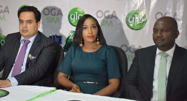 Glo Oga Sim Launch Official Photo