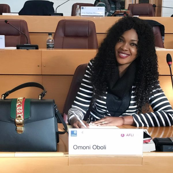 Nollywood actress Omoni Oboli taking classes at Oxford University | BellaNaija