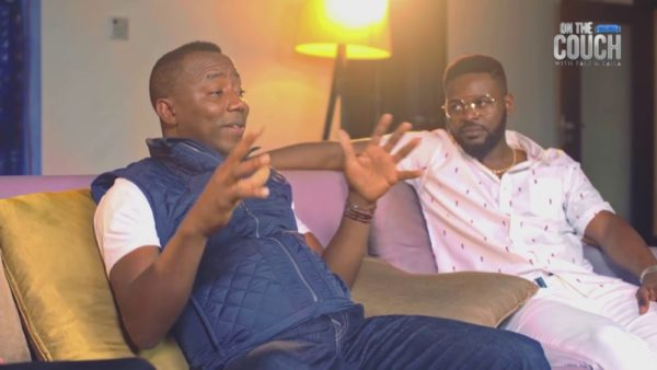 """Presidential Aspirant Yele Sowore sits """"On the Couch with Falz & Laila"""" 