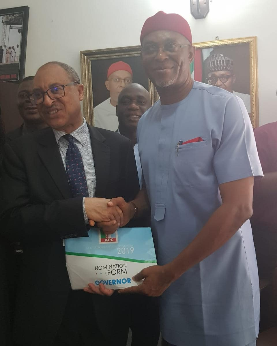Pat Utomi running for Governor of Delta State | BellaNaija
