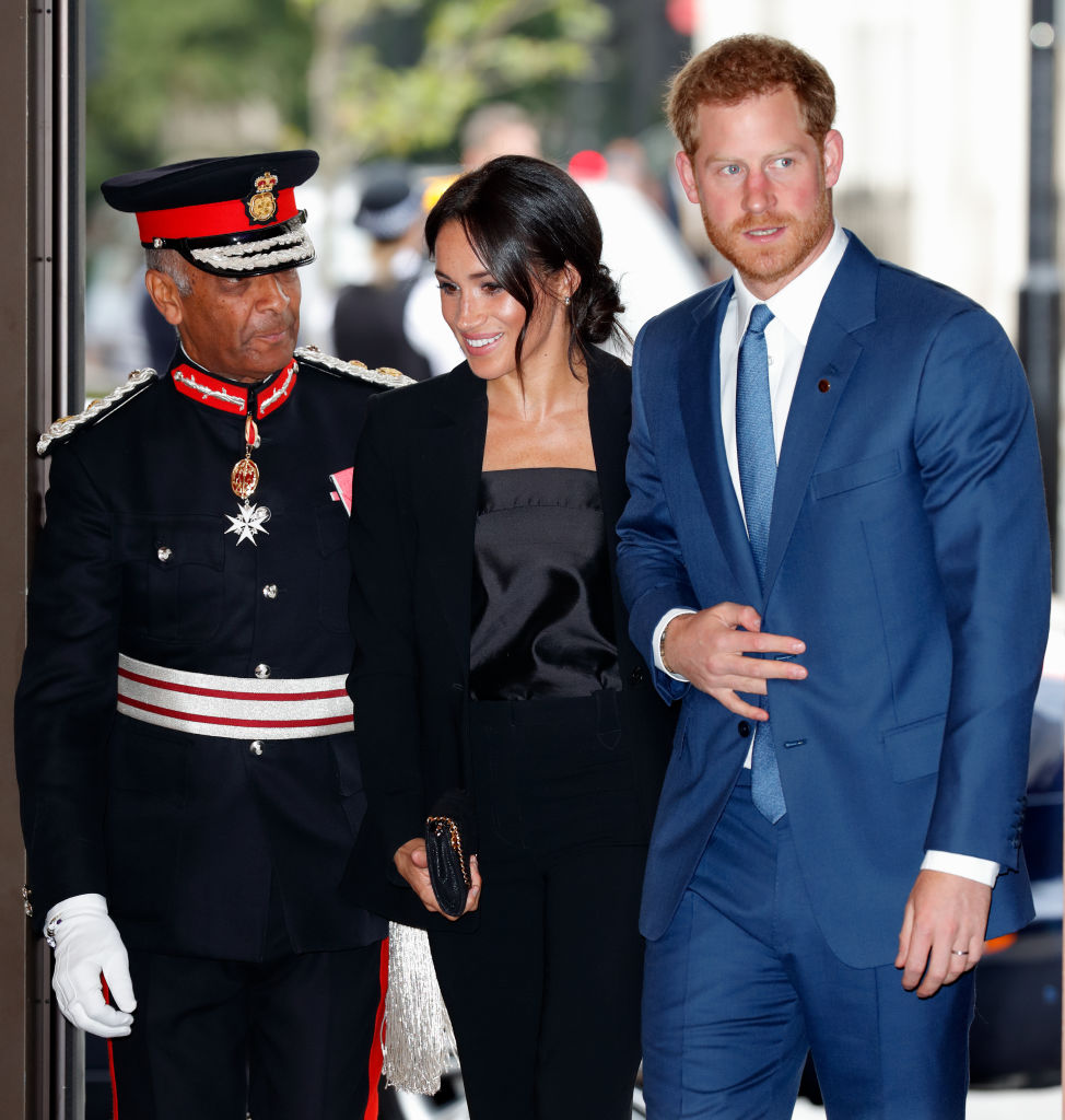 Prince Harry & Meghan Markle Attend WellChild Awards To
