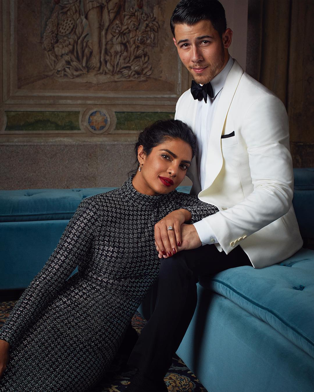 We These Photos Of Newly Engaged Couple Priyanka Chopra