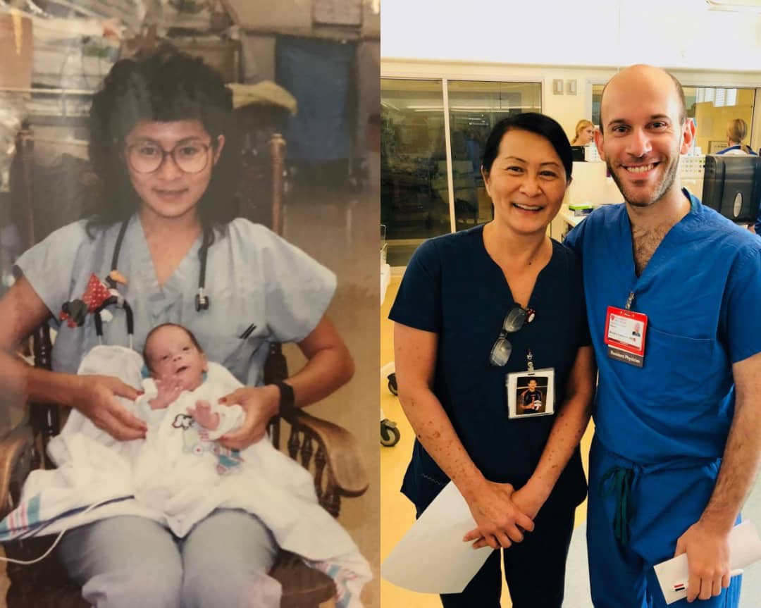 Nurse Realizes She Cared For Pediatric Resident 28 Years Ago In NICU