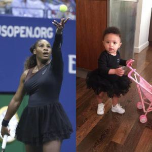 BN Sweet Spot: Serena Williams & daughter Alexis in Matching Outfits 💕