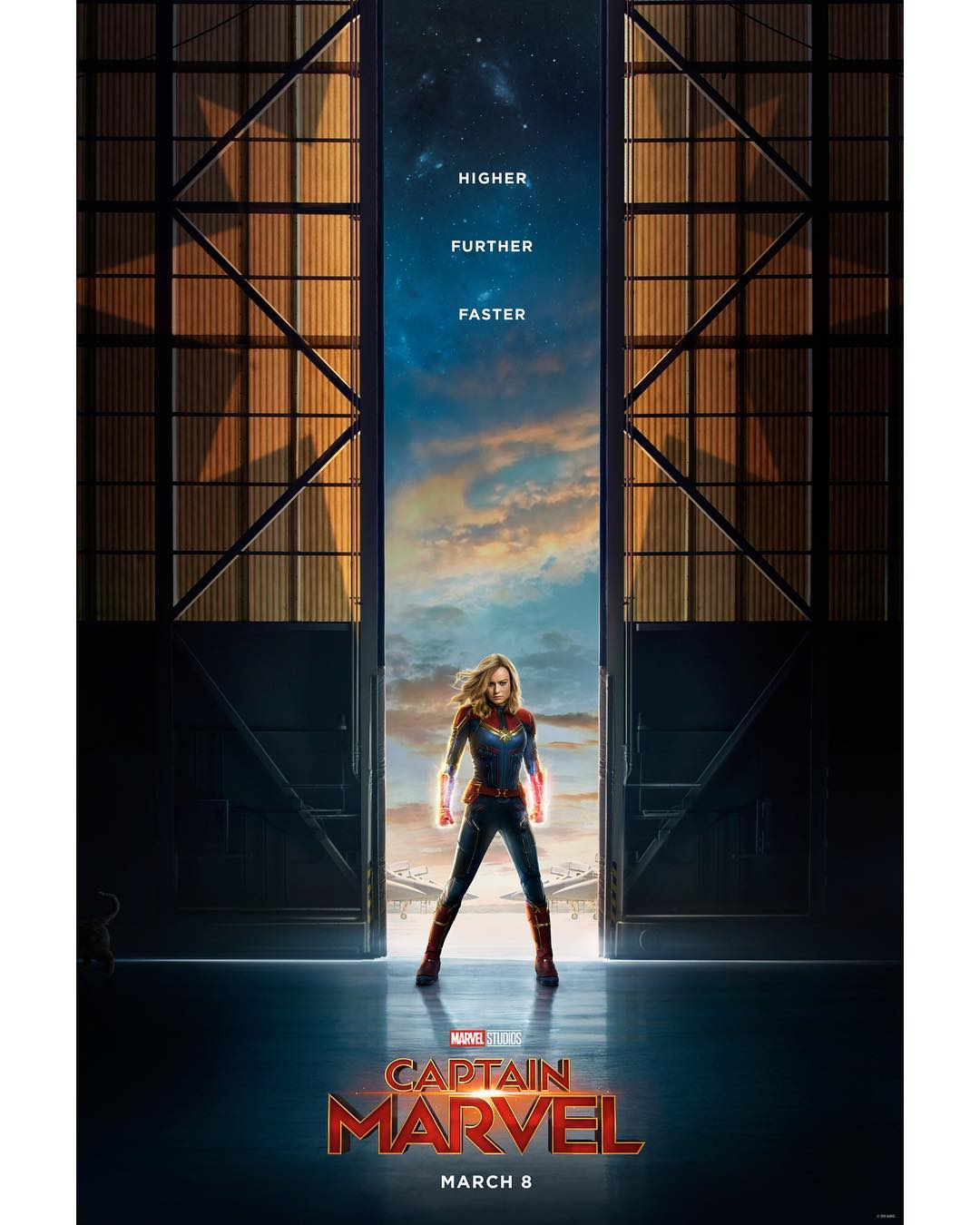 We just got our first glimpse of Brie Larson as Captain Marvel