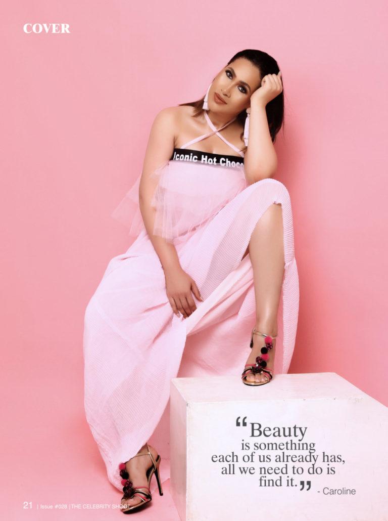 Caroline Danjuma is an Arabian Princess for VL Magazines