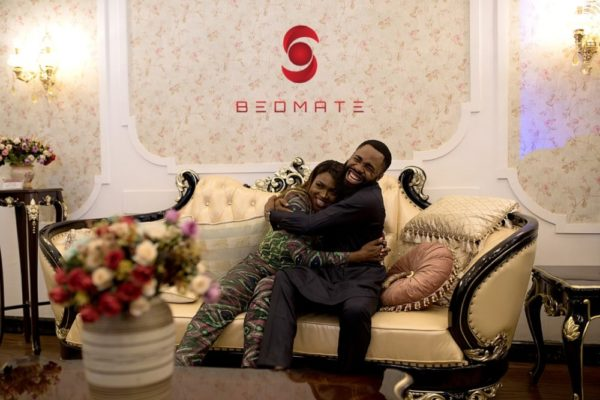Waje and Woli Aroli at Bedmate Furnitures 'STIL 2018' Event