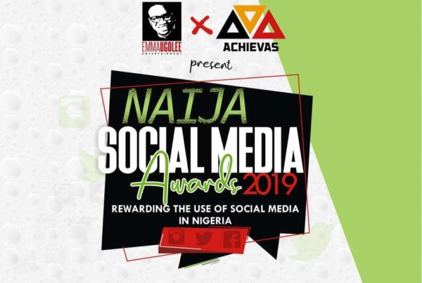 Official Banner for the first Naija Social Media Awards