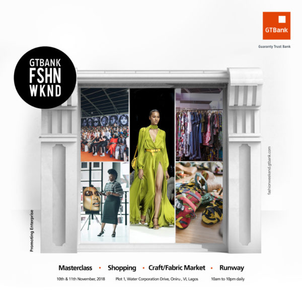 GTBank Fashion Weekend Banner