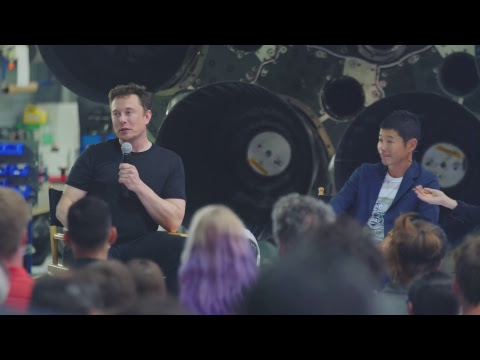 SpaceX to Send Japanese Billionaire to The Moon in 2023
