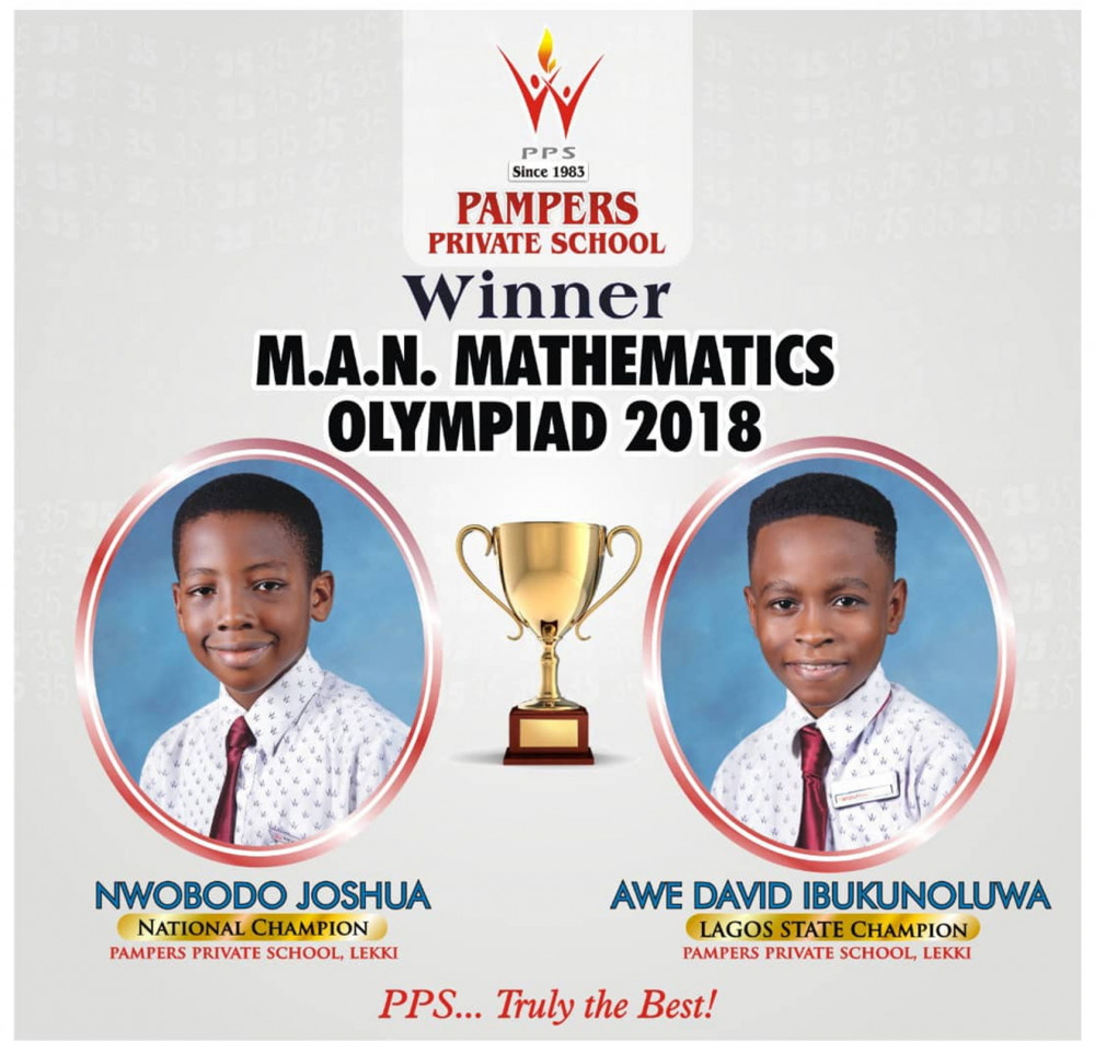 Students of Pampers Private School emerge winners of M A N
