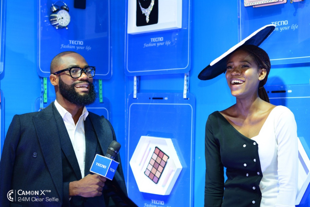 Fun all the Way! TECNO had the Most Interesting Booth at Lagos Fashion Week 2018 5