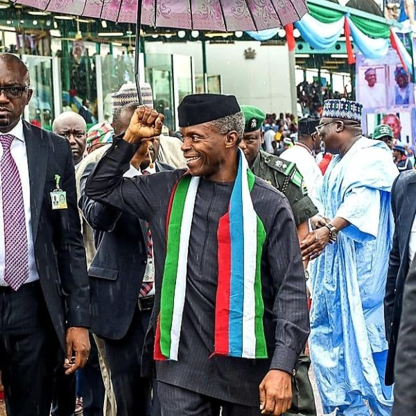Osinbajo says Religious Leaders sometimes Urge him not to sack Corrupt People | BellaNaija