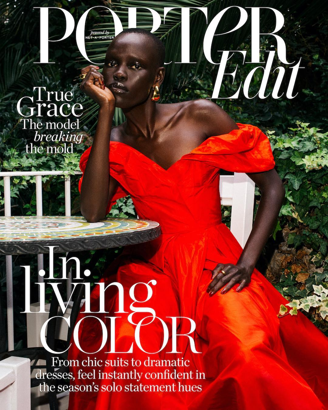 "South Sudanese Model Grace Bol is ""breaking the mold"" for Porter Magazine"