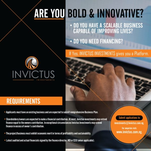 Invictus Group is offering Financial & Skill Support to Small and Medium Enterprises  | Find Out How to Apply