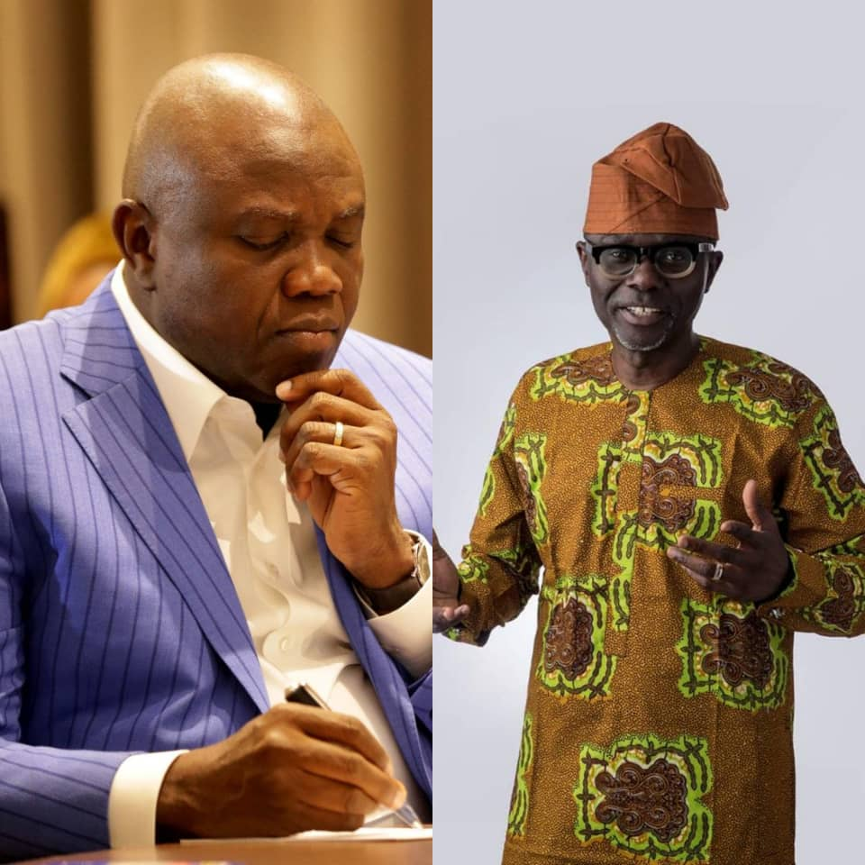 #LagosAPCPrimaries: Party Members voting for Ambode or Sanwo-Olu through Open Ballot