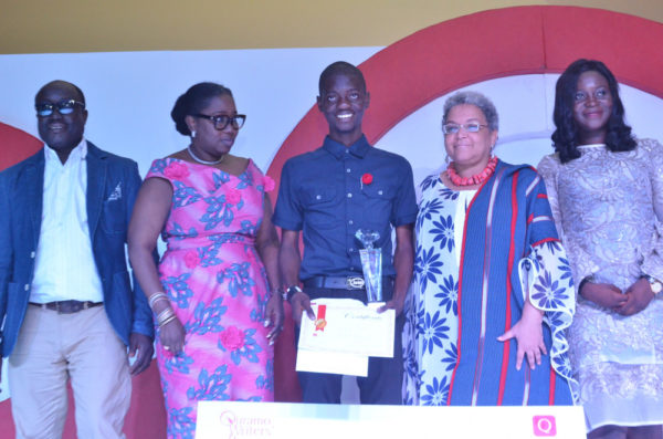 QuramoWriter's Prize 2018 Winner
