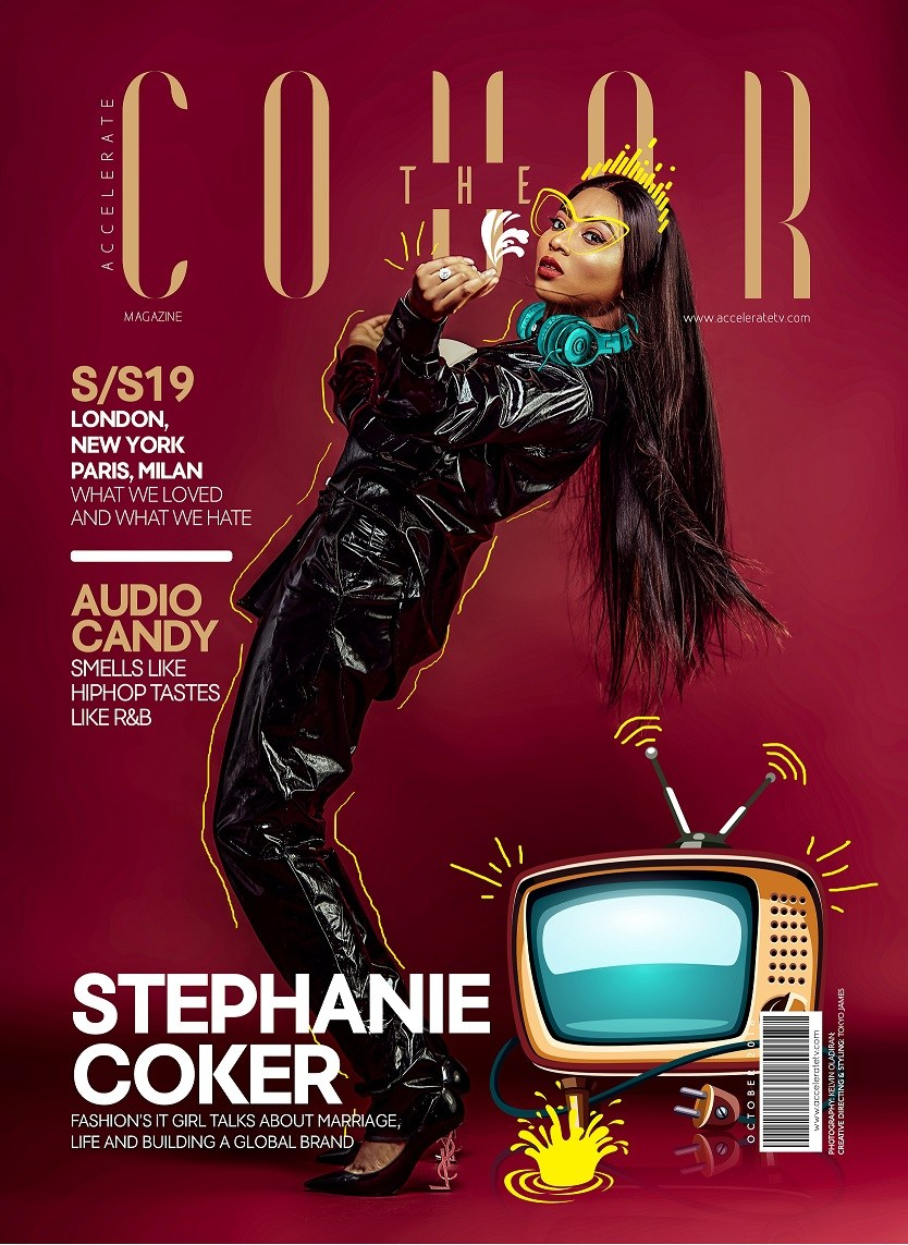 Stephanie Coker covers October Issue of The Cover Magazine
