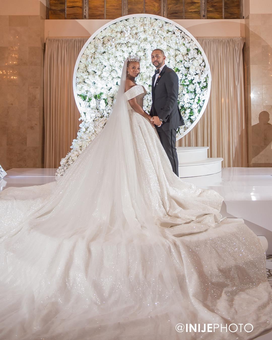 Real Housewives Of Atlanta's Eva Marcille Marries Michael
