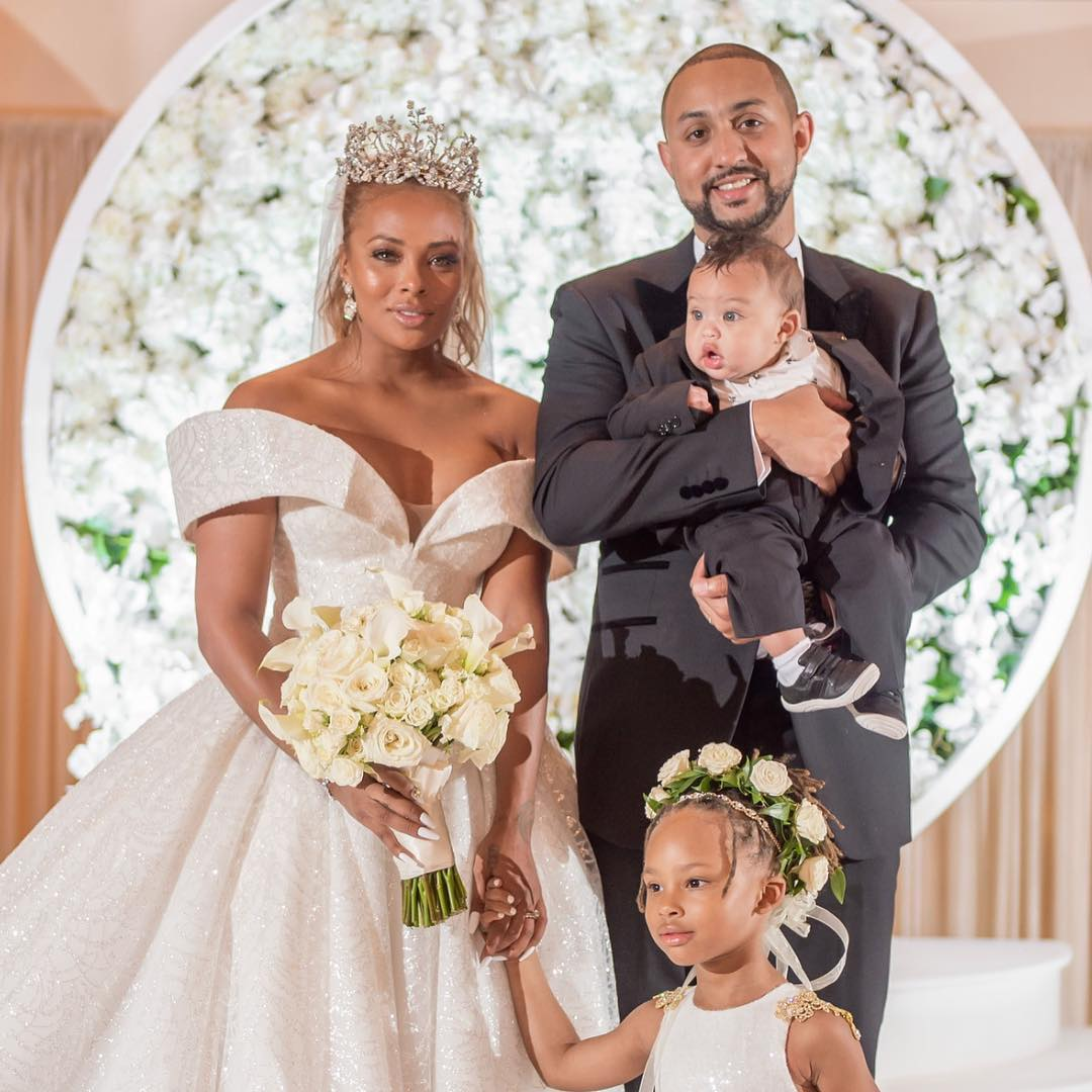 Eva Marcille & Michael Sterling's Wedding Photos Are Here